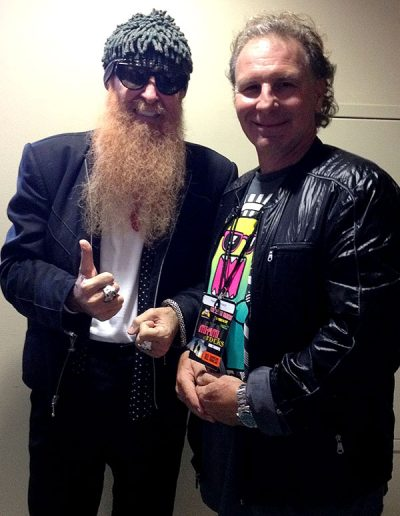 ZZ TOP Barry Gibbons