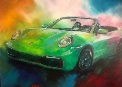 porsche-convertible-green